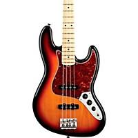 Fender American Standard Jazz Bass With Maple Fingerboard 3-Color Sunburst Maple Fingerboard