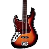 Fender American Standard Jazz Bass Left-Handed 3-Color Sunburst Rosewood Fingerboard