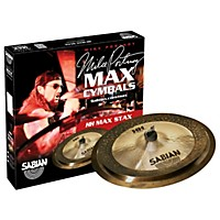Sabian Hh Low Max Stax Cymbal Pack Brilliant  ...