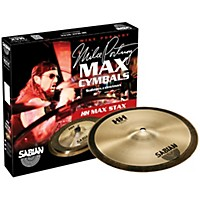 Sabian Hh Mid Max Stax Cymbal Pack 10 In. Kang, 10 In. Crash