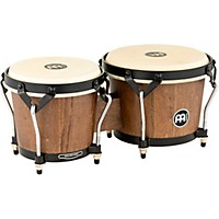 Meinl Headliner Traditional Designer Series Wood Bongos Walnut Brown 6.75 In. X 8 In.