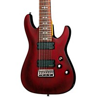 Schecter Guitar Research Omen-8  Electric Guitar Satin Walnut