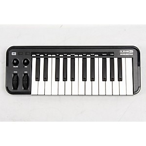 Line 6 Mobile Keys 25 Premium Keyboard Controller For Mobile Devices Black 888365471006