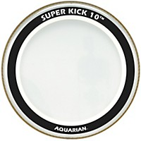 Aquarian Super-Kick 10 Bass Drumhead Clear  ...