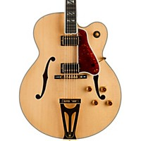 Gibson Custom 2015 Super 400 Thinline Hollowbody Electric Guitar Antique Natural