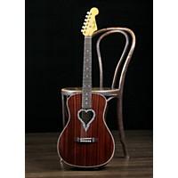 Fender Alkaline Trio Malibu Acoustic-Electric Guitar Natural Mahogany