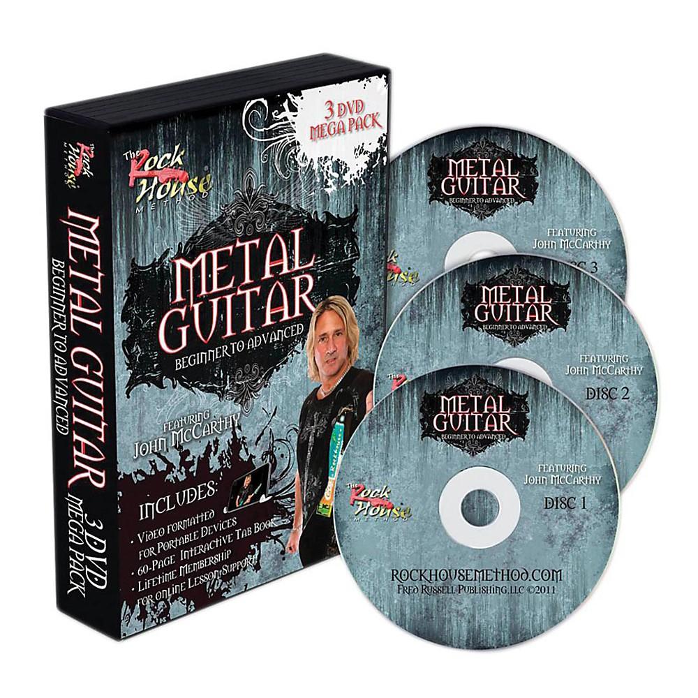 Hal Leonard The Rock House Method Metal Guitar Mega Pack (3-DVD Set) 1312645327588