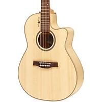 Seagull Amber Trail Cw Folk Sg Acoustic-Electric Guitar Natural