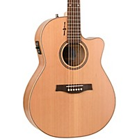 Seagull Natural Cherry Cw Folk Sg Acoustic-Electric Guitar Natural