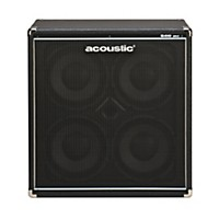 Acoustic B410mkii 4X10 Bass Speaker Cab Black