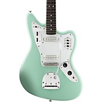 Squier Vintage Modified Jaguar Electric Guitar Surf Green Rosewood Fingerboard