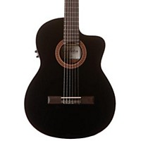 Cordoba C5-Cebk Classical Acoustic-Electric Guitar Black Black