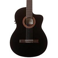 Cordoba C5-Cet Classical Thinline Acoustic-Electric Guitar Black
