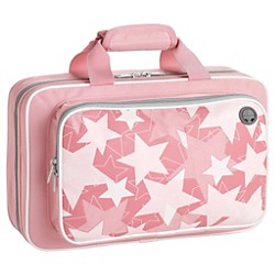 Kaces Grafix Pink Stars Series Polyfoam Clarinet Case