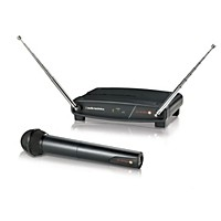 Audio-Technica System 8 Wireless System Includes: Handheld Dynamic Unidirectional Microphone/Transmitter 169.505 Mhz