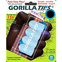 Gorilla Tips Fingertip Protectors Clear Medium