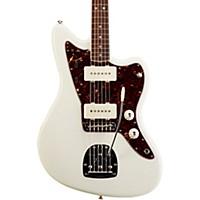 Fender American Vintage '65 Jazzmaster Electric Guitar Olympic White Rosewood Fingerboard