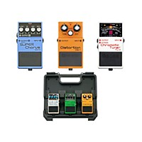 Boss Dave Navarro Pedal Pack (Ch-1, Tu-3, Ds-1) With Free Bcb30 Pedalboard