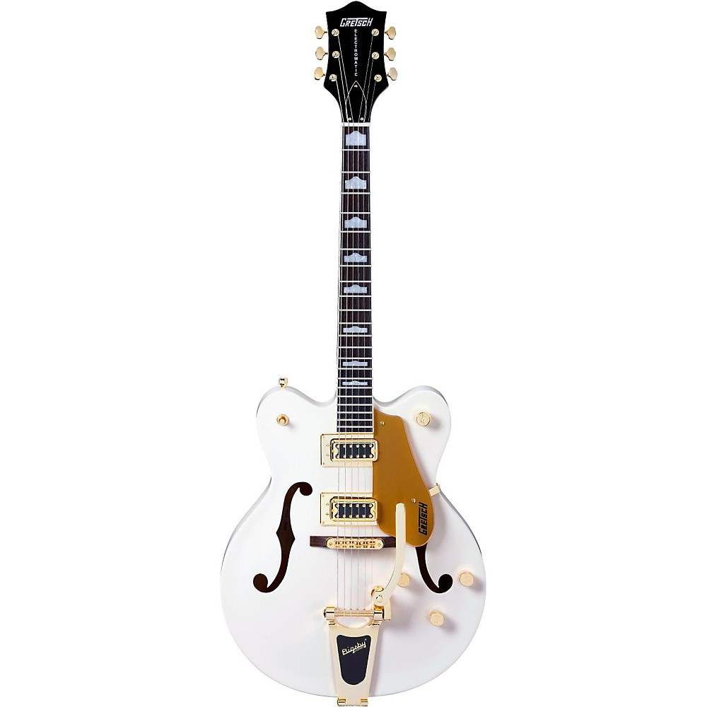 Gretsch Guitars G5422TDCG Electromatic Hollowbody Guitar Snow Crest White 1339600362747