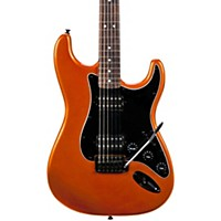 Squier Bullet Hh Stratocaster Electric Guitar With Tremolo Metallic Orange