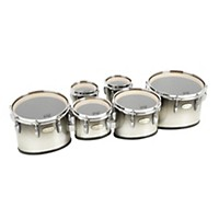 Pearl Maple Carboncore Marching Tenors Sonic Cut (Drums & Spacers Only) Black Silver Burst 6,6,8,10,12,13