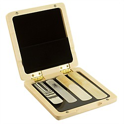 Theo Wanne Saxophone Reed Case Light Wood