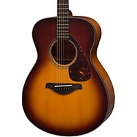 Yamaha Fs700s Solid Top Concert Acoustic Guitar Tobacco Sunburst