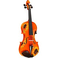 Rozanna's Violins Sunflower Delight Series Violin Outfit 1/4 Size