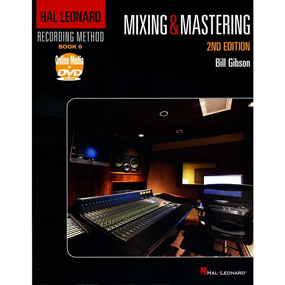 Hal Leonard Recording Method Book 6 Mixing & Mastering 2Nd Edition Book/Dvd