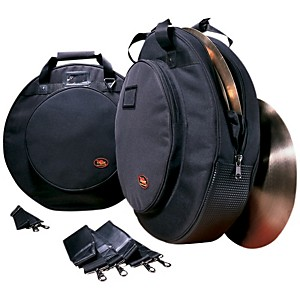 Humes & Berg Galaxy Deluxe Cymbal Bag With Padded Dividers Black 22 Inch