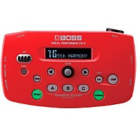 Boss Ve-5 Vocal Effects Processor Red