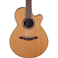 Takamine Pro Series 3 Folk Nylon Cutaway Acoustic-Electric Guitar Natural