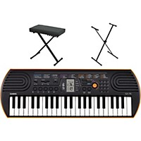 Casio Sa-76 Keyboard With Stand And Bench  ...