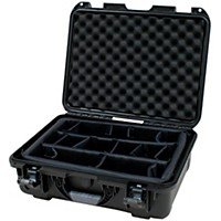Gator Gu-1813-06-Wpdv Waterproof Injection Molded Case Black