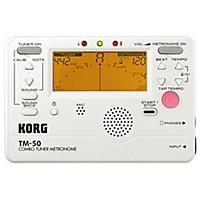 Korg Tm-50 Combo Tuner/Metronome Pearl White
