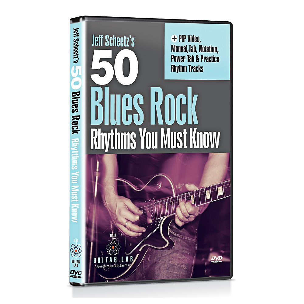 Emedia 50 Blues Rock Rhythms You Must Know DVD 1347291698383