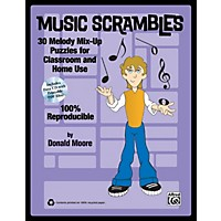 Alfred Music Scrambles Book & Cd
