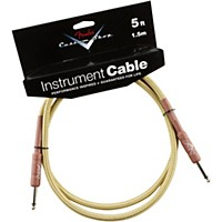 Fender Custom Shop Performance Series Instrument Cable Tweed 5 Ft.