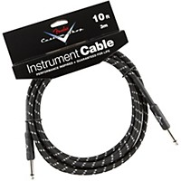 Fender Custom Shop Performance Series Instrument Cable Black Tweed 10 Ft.