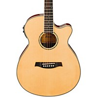 Ibanez Aeg10ii Cutaway Acoustic-Electric Guitar Gloss Natural