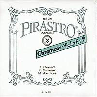 Pirastro Chromcor Series Violin String Set 4/4 With E Loop End