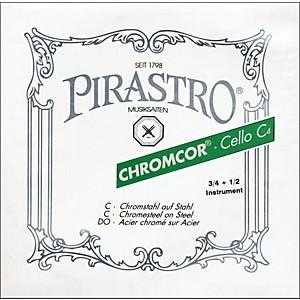 Pirastro Chromcor Series Cello String Set 3/4-1/2