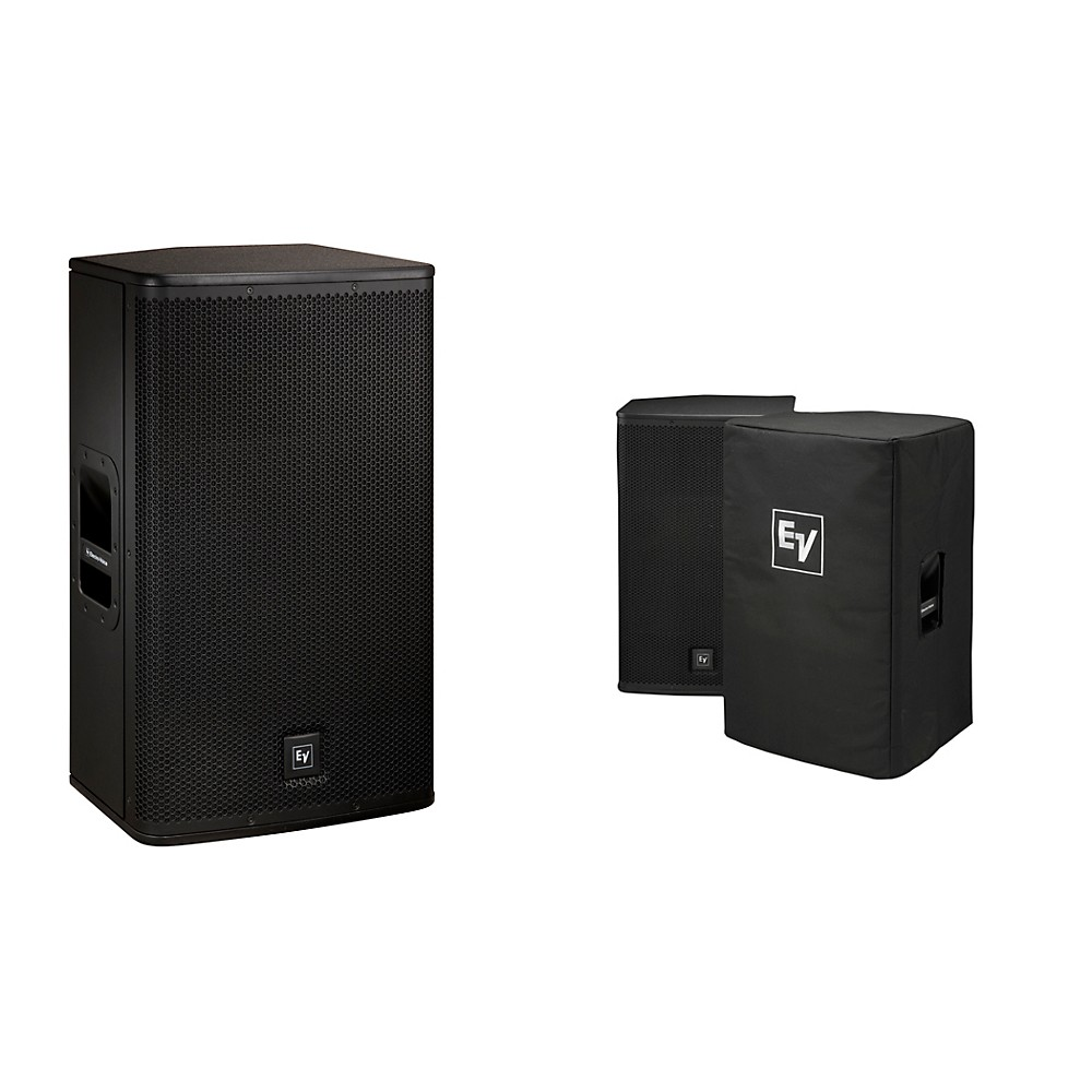 "Electro-Voice Elx115p Active 15"""" Loudspeaker And Cover Kit"" 1353948246021"