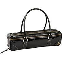 Fluterscooter New York Glam Couture Case Cover Black Patent Leather