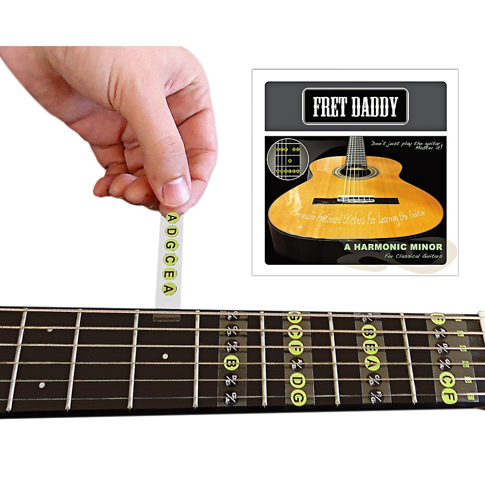 Fret Daddy The A Harmonic Minor Scale For Classical Guitar 1355159345338