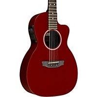 Rainsong P14 6-String Parlor With 14-Fret N2 Neck Red