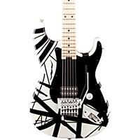 Evh Striped Series Electric Guitar White  ...