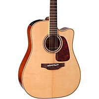 Takamine Pro Series 4 Dreadnought Cutaway Acoustic-Electric Guitar Natural