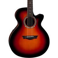 Dean Performer Plus Acoustic-Electric Guitar Transparent Brazilia