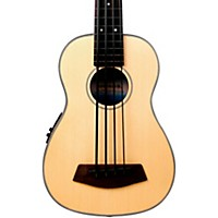 Kala Solid Top Fretless Acoustic Electric U-Bass Natural